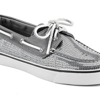 Women's Sequin Bahama Boat Shoe