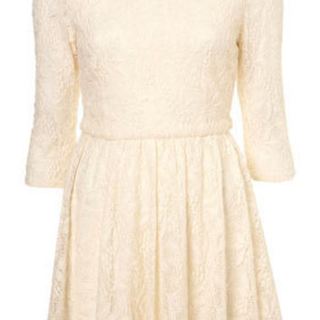Lace Liz Flippy Dress - Topshop USA