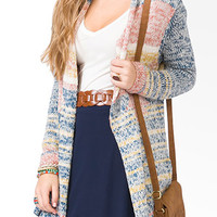 Southwestern Striped Cardigan