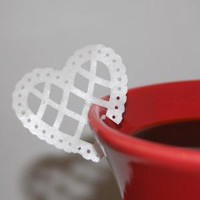 Edible Wafer Paper Filigree Hearts 15 by sweetsocietybakery