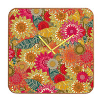 Sharon Turner Sunshine Garden Custom Clock