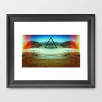 Power Framed Art Print by DuckyB (Brandi)