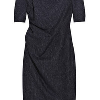 Lela Rose Speckled wool-blend dress – 60% at THE OUTNET.COM