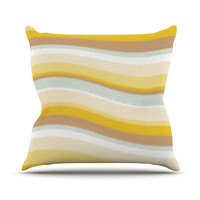 "Nika Martinez ""Desert Waves"" Throw Pillow"