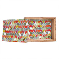 Sharon Turner Beach House Ikat Chevron Jewelry Box BLACK FRIDAY DISCOUNTS