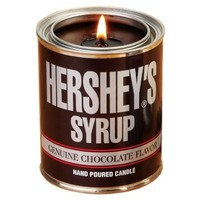 Amazon.com - Carousel Candles Mostly Memories Hershey's Pint Syrup Soy Candle - Travel Tins
