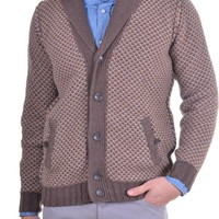Men's Knitwear YRS - brown | Kamiceria