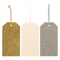 Seasonal Shimmer Gift Tags