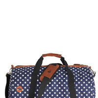 Traveling Near and Star Weekender Bag | Mod Retro Vintage Bags | ModCloth.com