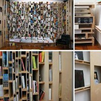 Fantastic Floor-to-Ceiling, Whole-Wall Bookcases &amp; Shelves | Designs &amp; Ideas on Dornob