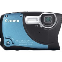 Canon - PowerShot D20 12.1-Megapixel Digital Camera - Blue