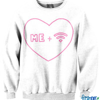Me and Wifi Crewneck
