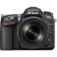Nikon - D7100 24.1-Megapixel DSLR Camera with 18-105mm Lens - Black