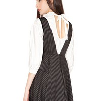 Schoolgirl Pin Stripe Dress