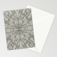 SnowFlake #2 Stationery Cards by Project M