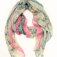 Multi Printed Scarf | Timing