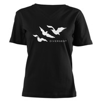 Divergent Tris Birds Tattoo T-Shirt