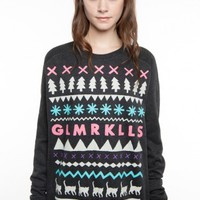 Glamour Kills Clothing - Girls Buzz's Girlfriend Crew Neck Sweatshirt