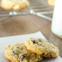 Almond Joy {Coconut-Almond-Chocolate Chip} Cookies - i heart eating