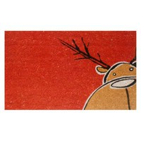 Home and More Christmas Moose Welcome Mat | www.hayneedle.com