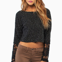 Desiree Long Sleeve Sweater $37