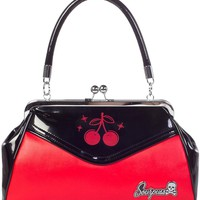 Sourpuss Cherry Backseat Baby Purse Accessories Purses at Broken Cherry
