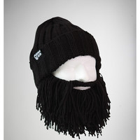 Vagabond Black Beard with Beanie