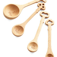Now That You Mansion It Measuring Spoons | Mod Retro Vintage Kitchen | ModCloth.com