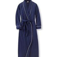 Pima Flannel Robe: Robes | Free Shipping at L.L.Bean