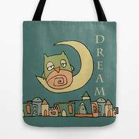 Dream Tote Bag by Carina Povarchik