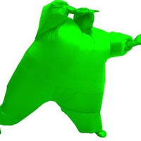 Inflatable Adult Chub Suit Costume (Green)