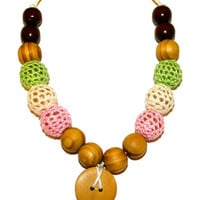 Kutsie Baby Beaded Nursing Necklace