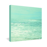 Lisa Argyropoulos Where Ocean Meets Sky Gallery Wrapped Canvas