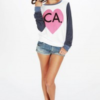 BICOASTAL GIRL BAGGY BEACH JUMPER