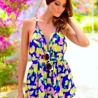 HEART ON FIRE PLAYSUIT