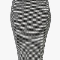 In The Net Pencil Skirt
