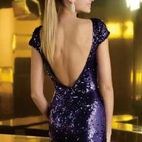 Alyce Short Dress 4348 at Prom Dress Shop