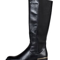 GOLDEN BAR TALL BOOTS