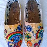 Rainbow Custom Shoes / HandPainted