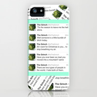The Grinch iPhone & iPod Case by Sara Eshak