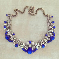 ROYAL SOLILOQUY STATEMENT NECKLACE