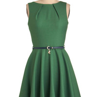Luck Be a Lady Dress in Green
