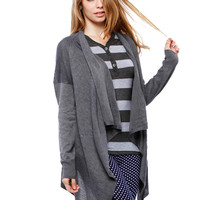 Essential Draped Cardigan