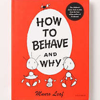 How To Behave And Why by Anthropologie Red One Size Gifts