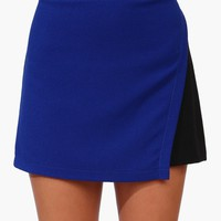 Got The Blues Mini Skirt