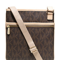 MICHAEL Michael Kors Signature Large Jet Set Cross-Body Bag | Dillard's Mobile