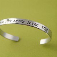 Like Snape loved Lily Cuff - Spiffing Jewelry