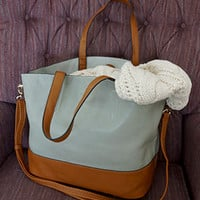 More Than Essential Tote, Tan (2-in-1 w bonus crossbody bag) - Back In Stock