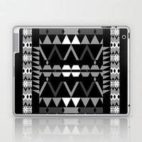 Mix #369 - Black And White Laptop & iPad Skin by Ornaart