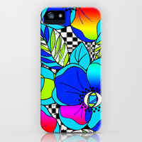Wild Popppies iPhone & iPod Case by Vikki Salmela